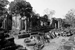 Angkor Wat van Cambodja Stock Afbeeldingen