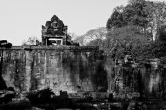 Angkor Wat van Cambodja Stock Foto