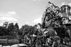 Angkor Wat van Cambodja Stock Afbeelding
