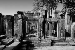 Angkor Wat van Cambodja Royalty-vrije Stock Fotografie
