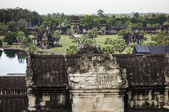 Angkor Wat Viewpoint Stock Images