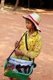 Angkor Wat von Kampuchea Stockfotografie