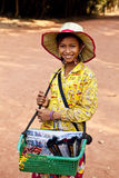 Angkor Wat von Kampuchea Lizenzfreie Stockbilder