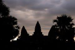 Angkor Wat w Siem Przeprowadza żniwa, cambodia fotografia royalty free