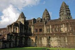 Angkor Wat walls Royalty Free Stock Photo