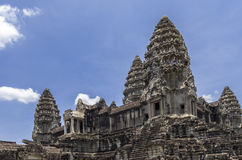 Angkor Wat wewnętrzny 3rd poziom Zdjęcie Stock