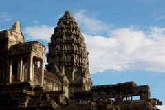 Angkor Wat Wonders do mundo Imagem de Stock