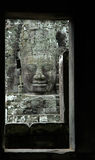 Angkor Wat - Bayon - a 1000 years old smile via Wi Royalty Free Stock Images