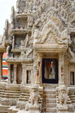 Angkor wata model szczegół Świątynia Buddha Phra Kaew Szmaragdowy Wat lub, Uroczysty pałac, Bangkok Obraz Royalty Free