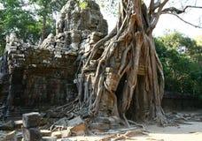 Angkor Watt complex temple. In Cambodia Stock Photo