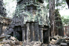 Angkor Watt complex temple Royalty Free Stock Image