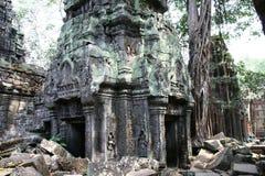 Angkor Watt complex temple. In Cambodia Royalty Free Stock Image