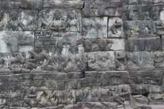 Angkor Watt - Ta Prohm temple ruin walls of the khmer city of angkor wat - State monument Stock Photography
