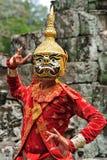 angkorbayoncambodia tempel Arkivfoto