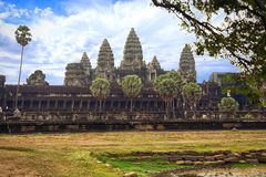 Angkorwat in Cambodia. Angkor Wat, Capital Temple, Khmer temple in Cambodia stock image