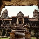 Angkorwst Stock Photography