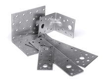 Angle bracket Stock Photo