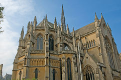 Angle of the cathedral Stock Photography