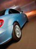 Angle d'entraînement POV de voiture de sport Photo libre de droits