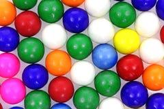 Angle de billes de bubble-gum de lignes Images libres de droits