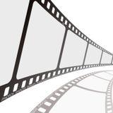 Angle de bobine de film Photographie stock libre de droits
