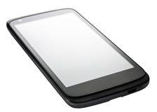 Angle de perspective de Smartphone d'isolement Image stock