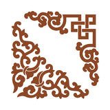 Angle Decoration of Chinese style Stock Images