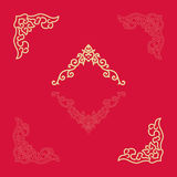 Angle Decoration of Chinese traditional style Stock Image