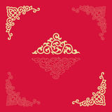 Angle Decoration of Chinese traditional style Royalty Free Stock Photo