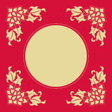 Angle Decoration of Chinese traditional style Royalty Free Stock Image