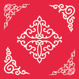 Angle Decoration of Chinese traditional style Stock Photo