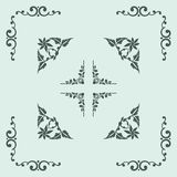 Angle Decoration Stock Images
