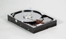 Angle faible d'unité de disque dur Photo libre de droits