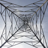 Angle faible de pylône Images stock
