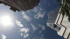 Angle faible du centre de Tampa clips vidéos