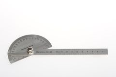Angle gage Royalty Free Stock Image