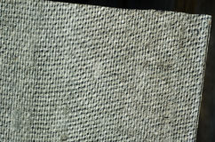 Angle of gray flat slate texture Royalty Free Stock Photography