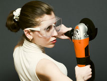 Angle grinder Royalty Free Stock Photos