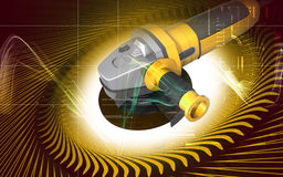 Angle grinder Royalty Free Stock Images