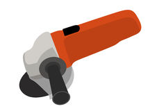 Angle grinder  isolated Royalty Free Stock Image