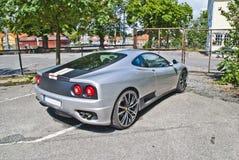 Angle italien 3 de voiture de sport Photographie stock