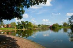 Angle of the lake Royalty Free Stock Image