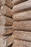 Angle of log, vertically Royalty Free Stock Photography