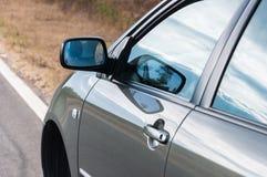 Angle shot of a car Royalty Free Stock Image