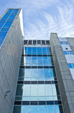 Angle Shot of office Building Stock Photography