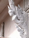 Angle statue as architectural decorative ornament Stock Photo