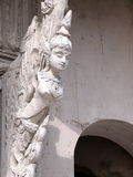 Angle statue as architectural decorative ornament Stock Images