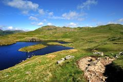 Angle Tarn Stock Photo