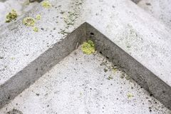 Angle up Background. Abstract geometric background of the concrete. stock photos