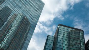 Angle View Of Commercial Building stock photography